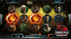 Jurassic Park™ Slot game Win Online, Jurassic Park, Slot, Games, Gaming, Toys