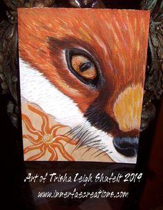 The fox https://www.etsy.com/listing/203172289/aceo-original-fox-mini-painting-acrylic