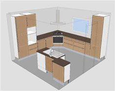 1000 images about logiciels on pinterest digital for Cuisine 3d autocad