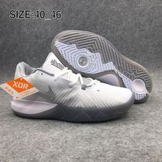Nike Kyrie 4 Basketball Chaussures Homme Blanc Gris. Brand Shoes 0d5ebb500