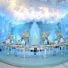 Si tienes niñas seguro que conoces Frozen, aquí tienes algunas fiestas inspiradas en la famosa película.