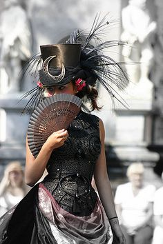#steampunk fashion