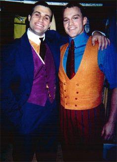Marc Kudisch and Gavin Creel as Trevor Graydon and Jimmy Smith