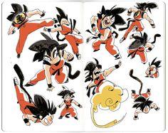 Son Goku by AnthonyHolden.deviantart.com on @DeviantArt