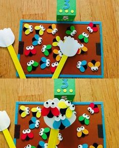 Educational games from felt - Kinderspiele Games For Kids, Diy For Kids, Crafts For Kids, Montessori Activities, Activities For Kids, Preschool Learning, Infant Activities, Preschool Activities, Easy Fathers Day Craft