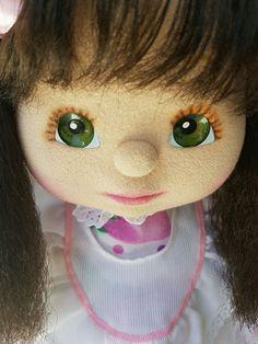 Vintage Mattel ~ My Child Doll ~ AuSSiE GiRL ~ Brunette Crimp & Green Eyes ~ EC!
