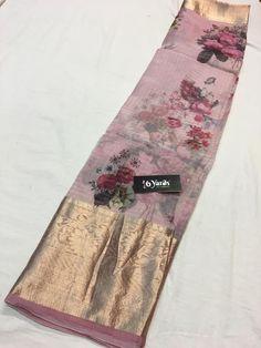 Latest kora sarees with zari border with blouse. These are very beautiful sarees and lite weight ,looks very decent . Buy these sarees in siri designers. Kora Silk Sarees, Silk Saree Kanchipuram, Organza Saree, Cotton Saree, Saree Blouse Neck Designs, Fancy Blouse Designs, Saree Blouse Patterns, Floral Print Sarees, Saree Floral