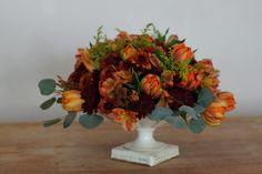 Bloom & Vine Thanksgiving centerpiece