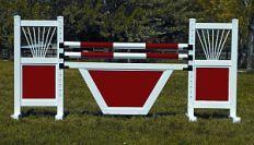 Skinny Gate panel horse jump.