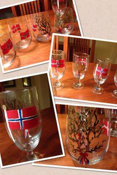 DIY 17. Mai! Alcoholic Drinks, Wine, Glass, Red, Drinkware, Alcoholic Beverages, Liquor, Alcohol Mix Drinks, Glas