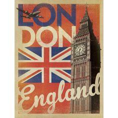 Pôster Londres 2