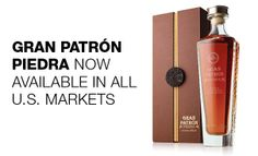 Gran Patrón Piedra ... Each bottle is aged a minimum of three years in new oak barrels, creating Patrón Tequila's first extra Añejo. This extended aging period, in conjunction with the sole use of the Tahona wheel for processing, creates a unique flavor profile