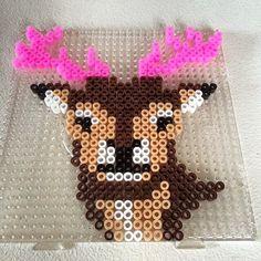 Deer perler beads by perler_queen_