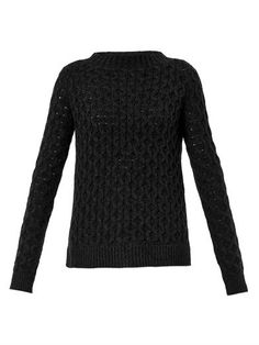 Koralyn open cable-knit sweater | Theory | MATCHESFASHION.COM