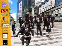 """Concierto """"Por el medio de la calle - 2012"""" Música Barroca Latinoamericana - mercado de Chacao - La Sarabanda"""