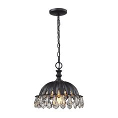 elk chadwick 1 light 13 inch oil rubbed bronze pendant ceiling light pendants products and light pendant