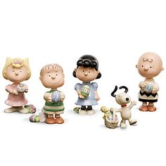 LENOX Figurines: Animated Characters - It's the Easter Beagle CHARLIE BROWN Figurine