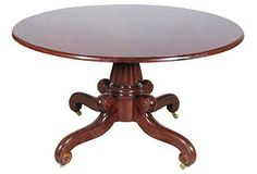 19th century breakfast table - The Barn at 17 Antiques   One Kings Lane