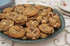 Brown butter triple chocolate chunk cookies. I'm a sucker for anything involving browned butter.