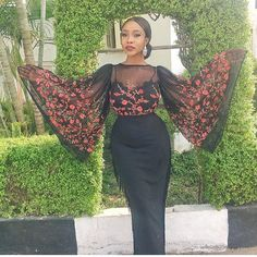 70 Stylish Wedding Guest Dresses That Are Sure To Impress - Wedding Digest Naija African Wear, African Attire, African Women, African Dress, African Print Fashion, African Fashion Dresses, Fashion Outfits, Fashion Styles, Fashion Decor