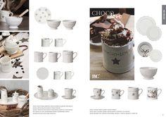 Magazine Catalogue Winter 2015 Bastion Collections #hotchoco #chocolate #cozy #warm #winterdays #ceramics #plates #mug