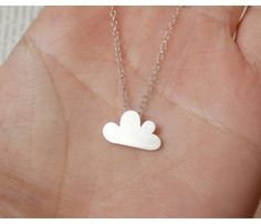 Cloud Necklace. A #cute accessory for the #geek girl.