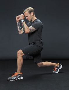 The Ultimate Take-It-Anywhere 10 minute Travel Workout.    Last night on the Biggest Loser his tip was: 20 jumping jacks, 20 lunges, 20 pushups, repeat x3-5.