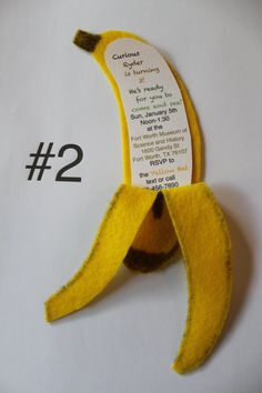 Handmade Banana Curious George Donkey Kong or Jungle by TheseBoys