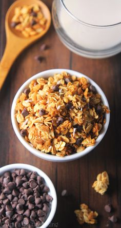 Clean-Eating Almond Joy Granola