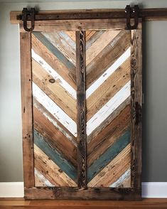 Today we were honored to install this barn door for our friend and mentor @stephenbarnesjr. We were able to take pieces of wood From all the various deconstruction projects we've taken part in and create a truly unique piece of art.
