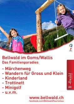Bellwald im Goms/Wallis Das Familienparadies Wallis, Park, Putt Putt, Tourism, Parks