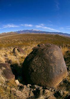 Three Sisters Petroglyph Nationa Site New Mexico, USA