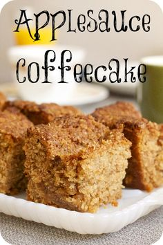 vegan applesauce coffeecake. Farm Sanctuary is committed to ending cruelty to farm animals and promoting compassionate vegan living through rescue, education, and advocacy efforts. Please join us. A compassionate world begins with you! http://www.farmsanctuary.org