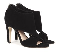 City Chic | love these black peep toes. Would look just as good with jeans as it would a printed dress.