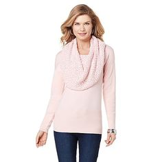 Jamie Gries Collection Holiday Cowl-Neck Sweater on HSN