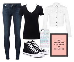 """""""Ainsley #2"""" by emmafetzer on Polyvore featuring J Brand, Simplex Apparel, Miss Selfridge, Converse and Casetify"""