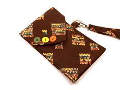 Vintage Necktie Cell Phone Case iPhone Brown by InstinctivelyIndie, $19.00