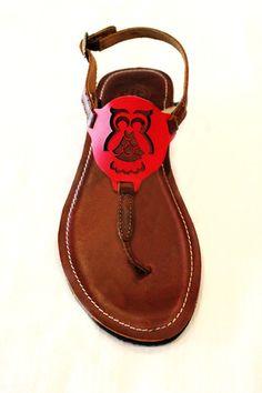 Chi Omega sandals