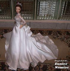 Reem Acra Barbie by Designer_Barbie, via Flickr