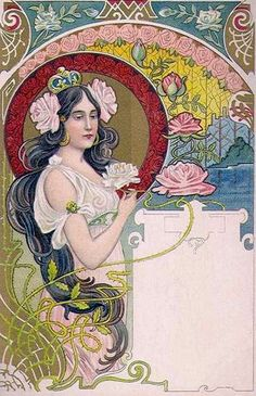 Jugendstil Roses