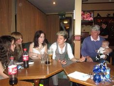 Niall at Theo's christening
