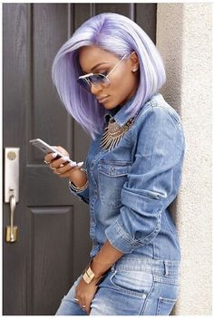 Online Shop Ombre hair color sew in human hair bundles and closure and frontal for brunettes colored hair for black off promotion factory cheap price,DHL worldwide shipping, store coupon available. Pastel Hair, Purple Hair, Ombre Hair, Purple Bob, Green Hair, Pretty Hairstyles, Girl Hairstyles, Scene Hairstyles, Natural Hair Styles