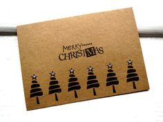 Christmas Card  MERRY CHRISTMAS   Christmas by stuffannaloves