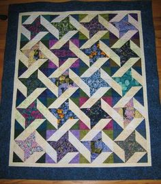 I LIKE this! So easy with HST's and a square to make each block!