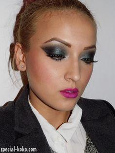 Jade & Rhinestones #makeup on @Makeupbee