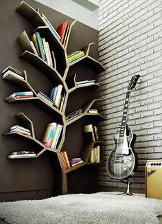 LOVE this for an alternative bookshelf