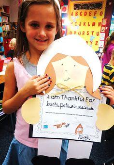"""I Am Thankful For"" Craft"