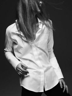 Must-Haves - Crisp white shirt - monstylepin #fashion #musthave #spring #whiteshirt #classic #buttonshirt