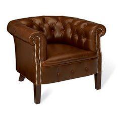 Brookfield Tub Chair at Safavieh Home Furnishings - from Ralph Lauren - SKU: 767-03