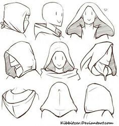 Resultado de imagen de capucha dibujo